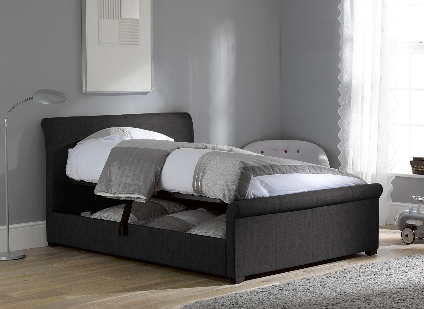 Fabric Upholstered Beds Discount Code Sava